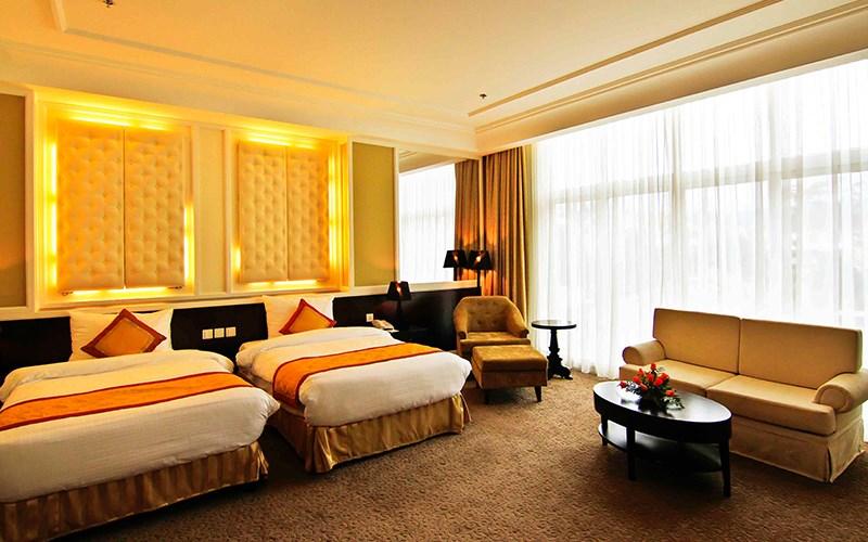 Phòng Executive Suites hotel La Sapinette Đà Lạt
