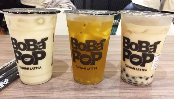 Taiwan Latte Bobapop