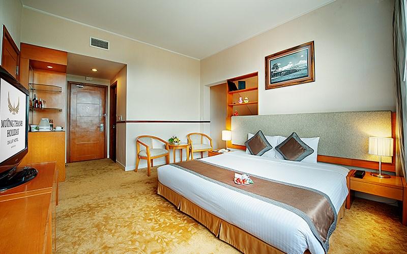 phòng Deluxe Double Khách sạn Mường Thanh Đà Lạt