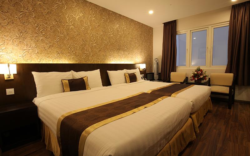 phòng Deluxe Gia Đình Kings Hotel Đà Lạt