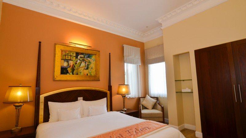 phòng Junio Suite Double Lake View khách sạn edensee
