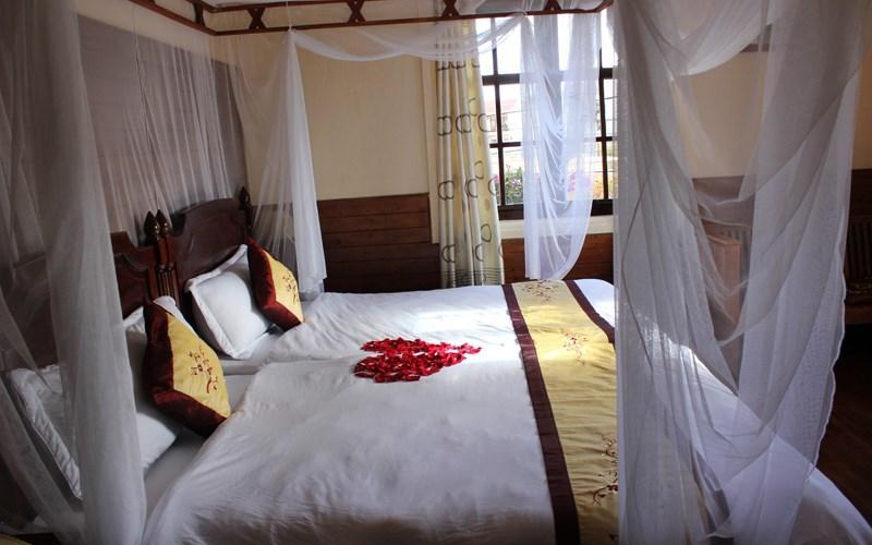 Phòng Superior 2 giường Khách sạn Saphir Đà Lạt