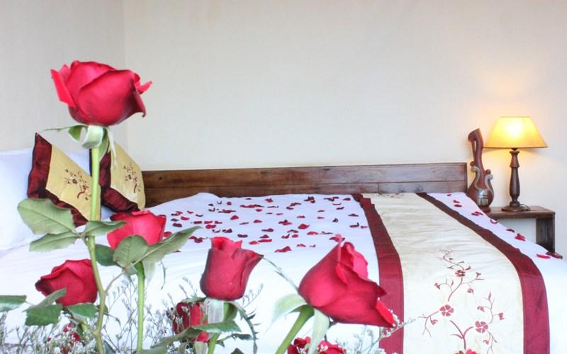 phòng deluxe 2 giường Khách sạn Saphir Đà Lạt