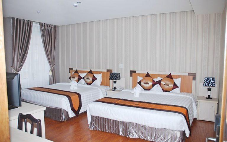 phòng gia đình khách sạn Phố Núi Đà Lạt