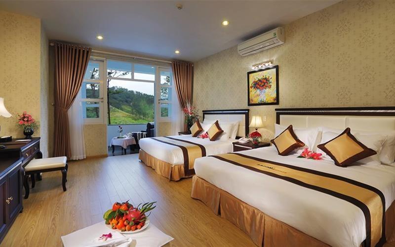 phòng suite Sacom Tuyền Lâm Golf Club & Resort