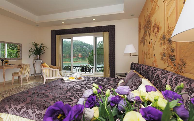 phòng villa studio khách sạn Bình An Village Đà Lạt