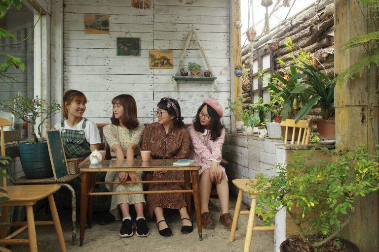 Tiệm cà phê Hoa Hồng Đà Lạt