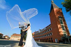 chụp ảnh cưới tại trường cao đẳng sưu phạm Đà Lạt