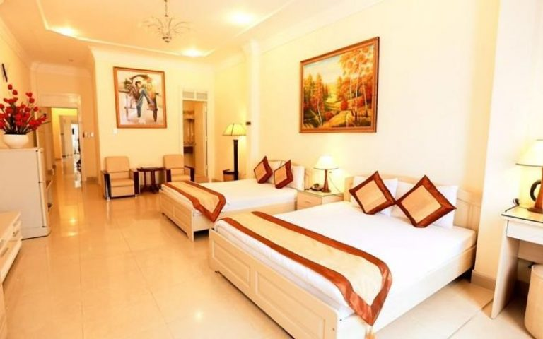 phong Executive 2 giường đơn khách sạn Tulip