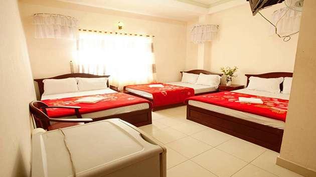 Phòng khách sạn hải uyên ở Đà Lạt