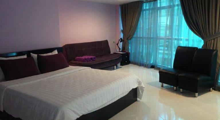 Phòng đơn khách sạn Ngôi Nhà Tím