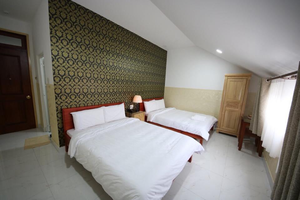 Căn phòng ở khách sạn Thảo Trâm