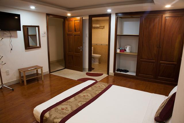 phòng deluxe Liên Hương 2 Hotel Đà Lạt