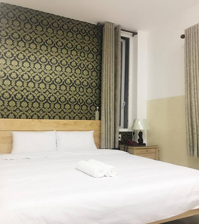 Phòng giường đôi khách sạn Thảo Trâm Đà Lạt
