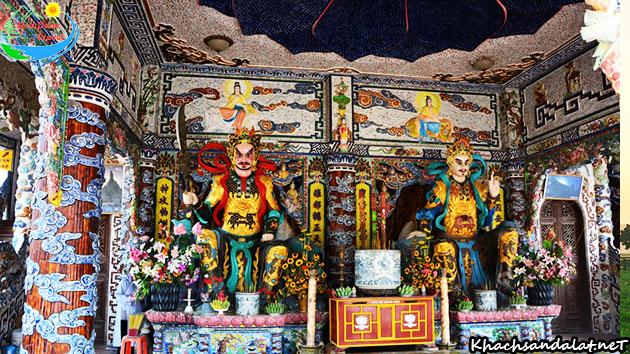 chùa linh phước Đà Lạt 18 tầng địa ngục