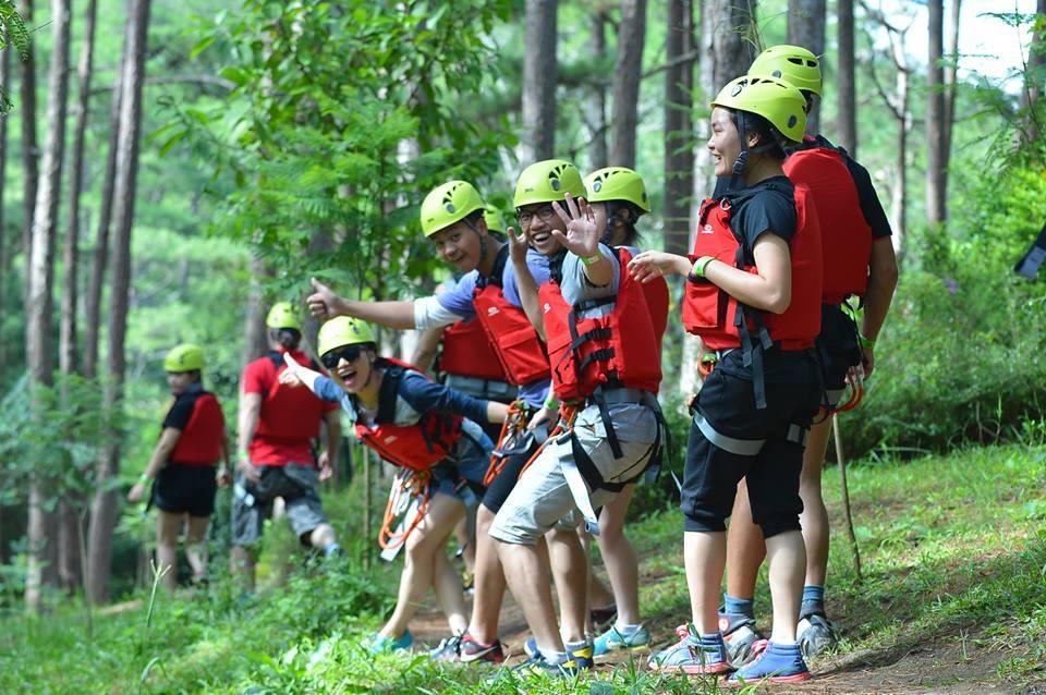 hình ảnh tại thác Datanla Đà Lạt