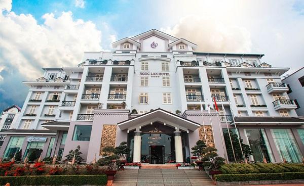 Khách sạn 4 sao đường Nguyễn Chí Thanh Đà Lạt