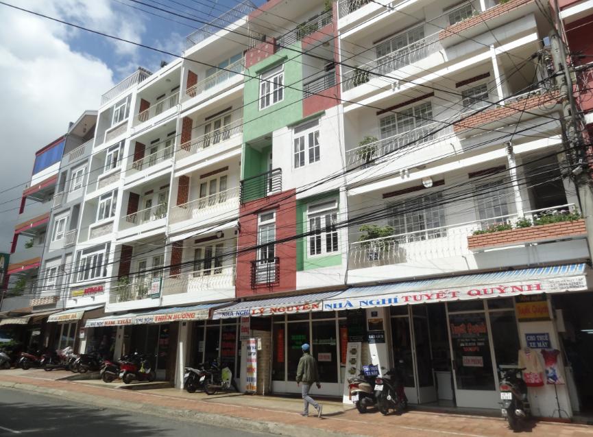 Khách sạn Đà Lạt trên đường Hà Huy Tập