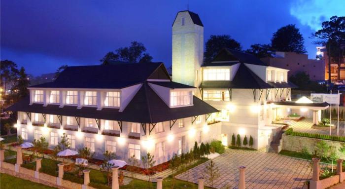 Khách sạn đường Phan Bội Châu Đà Lạt
