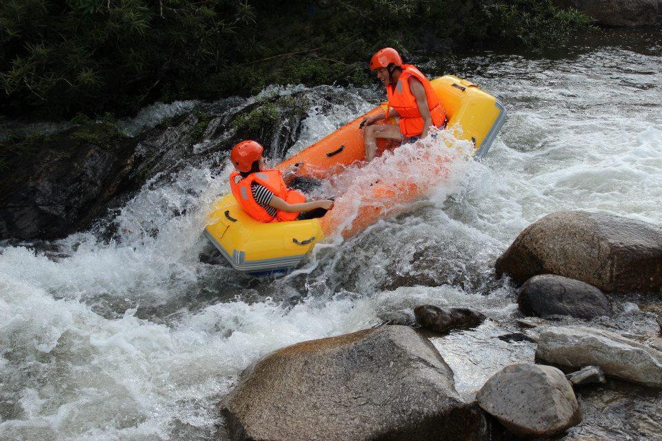 thuyền Kayak thác Datanla Đà Lạt