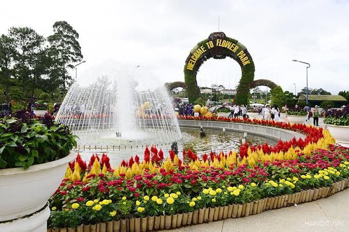 Thuyết minh về vườn hoa thành phố Đà Lạt