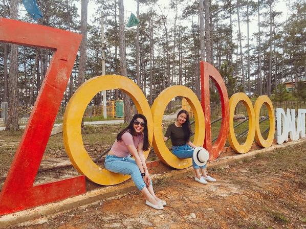 Tour tham quan sở thú Zoodoo Đà Lạt