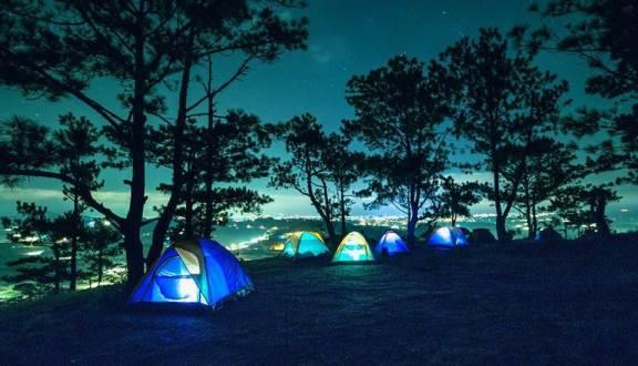 Cắm trại ở đồi Đa Phú Đà Lạt