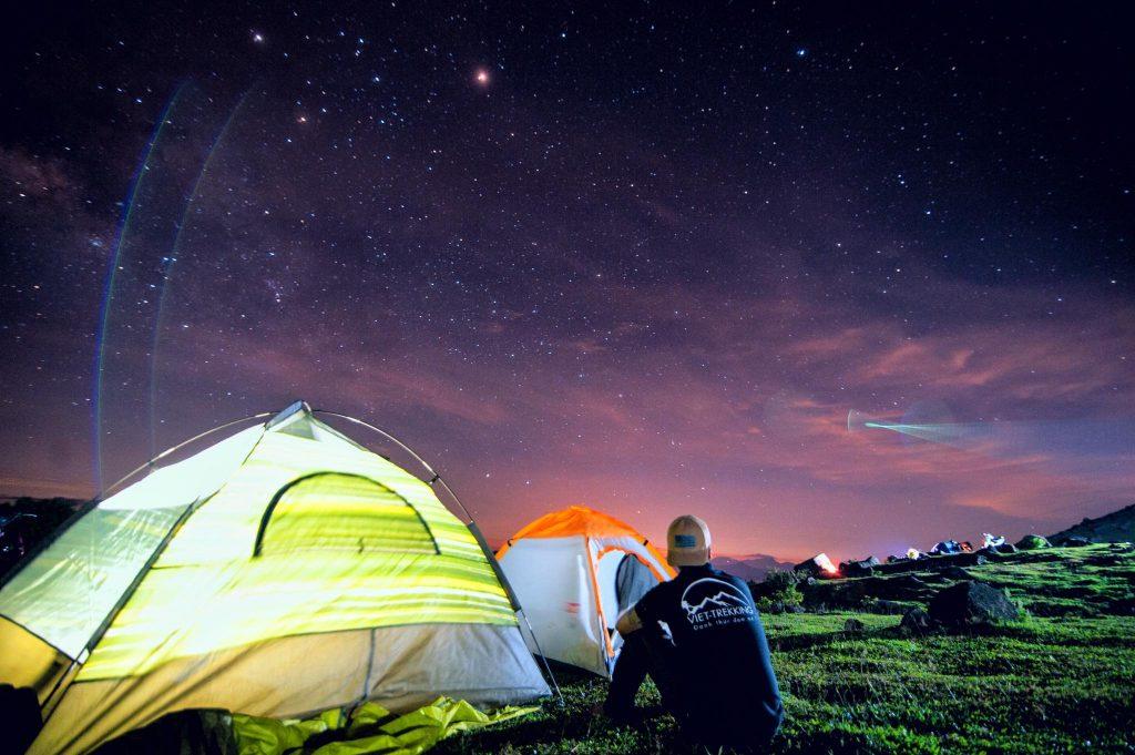 Cắm trại ở Langbiang