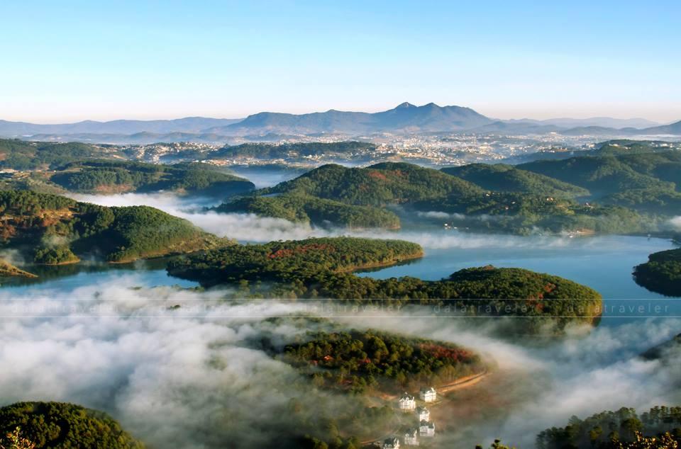 Chơi gì ở hồ Tuyền Lâm