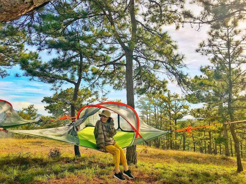 Đồ cắm trại ở Đà Lạt