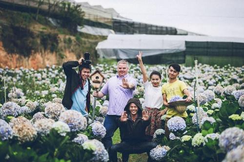 du lịch nhà vườn ở Đà Lạt