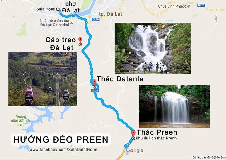 Đường đến thác Pongour Đà Lạt