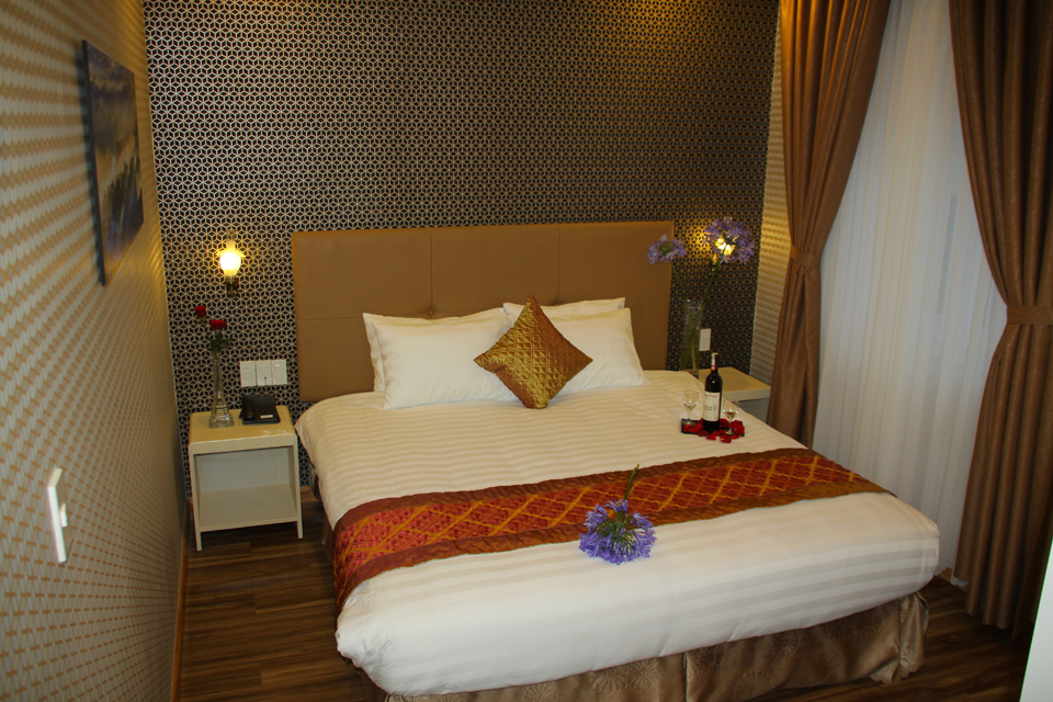 phòng Standard Double Khách sạn Arapang