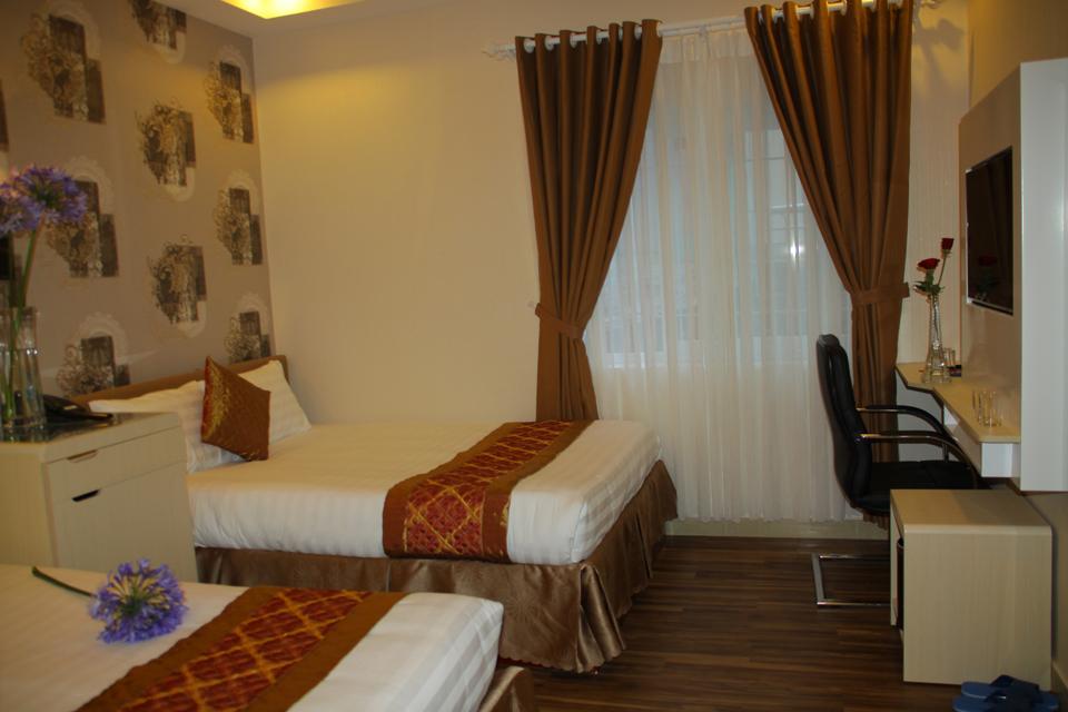 Phòng Standard Quadruple hotel arapang Đà Lạt