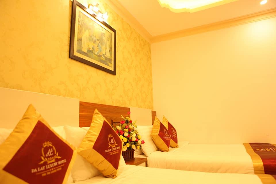 Phòng đôi hotel Luxury Đà Lạt