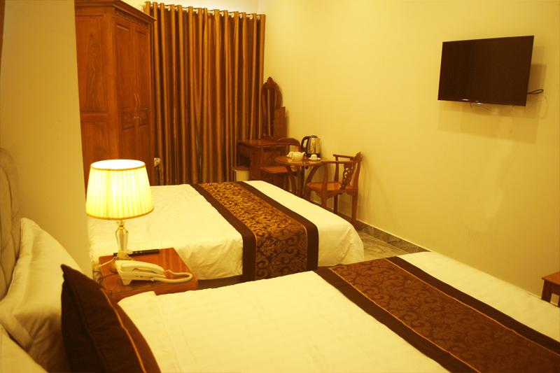Phòng đôi hotel My Ty Đà Lạt