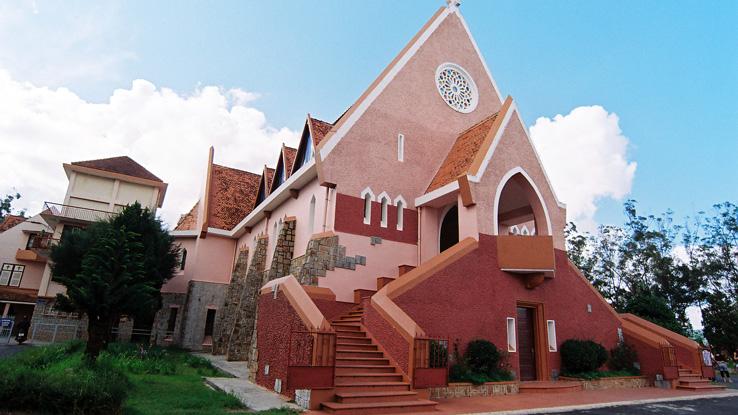 Tham quan nhà thờ Domain