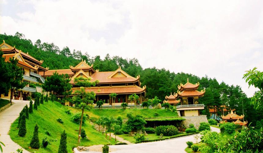 Hướng dẫn kinh nghiệm, đường đi Thiền viện Trúc Lâm Đà Lạt