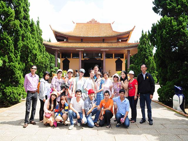 Website thiền viện trúc lâm Đà Lạt
