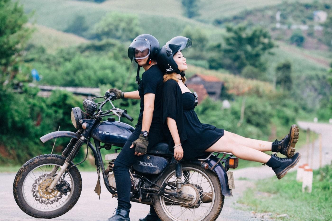 Cho thuê xe máy Đà Lạt không cần bằng lái