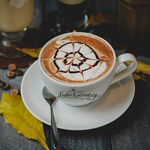 Thức uống ở Xuân hương coffe garden Đà Lạt