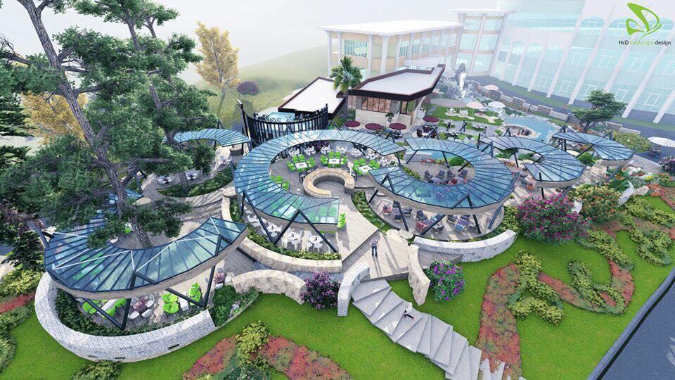 Xuân Hương garden cafe