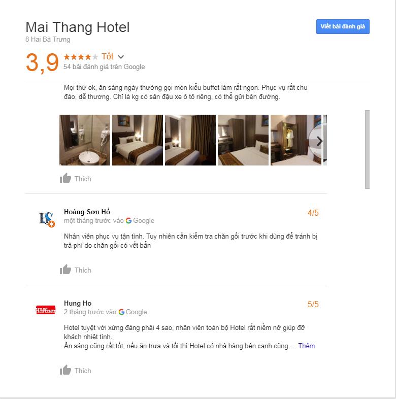 Đánh giá khách sạn Mai Thắng Đà Lạt