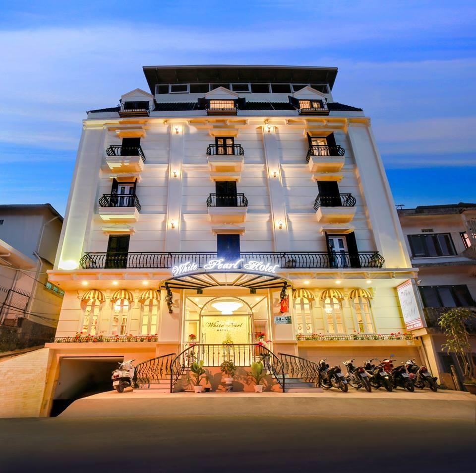Khách sạn Đà Lạt nằm trên đường Phan Như Thạch Đà Lạt