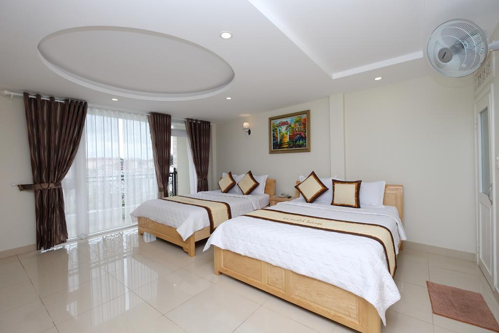 Phòng đôi khách sạn Châu âu europa Đà Lạt
