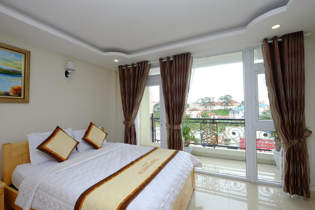 Phòng đơn khách sạn châu âu europa đà lạt