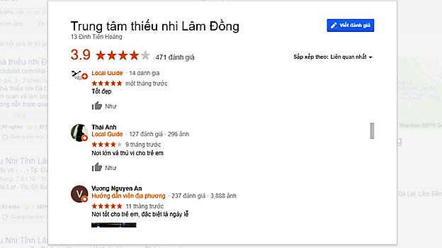 Review nhà thiếu nhi Đà Lạt