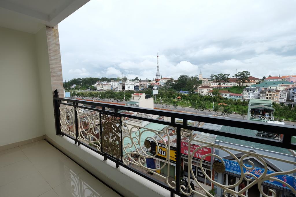View phòng khách sạn Châu Âu Đà Lạt