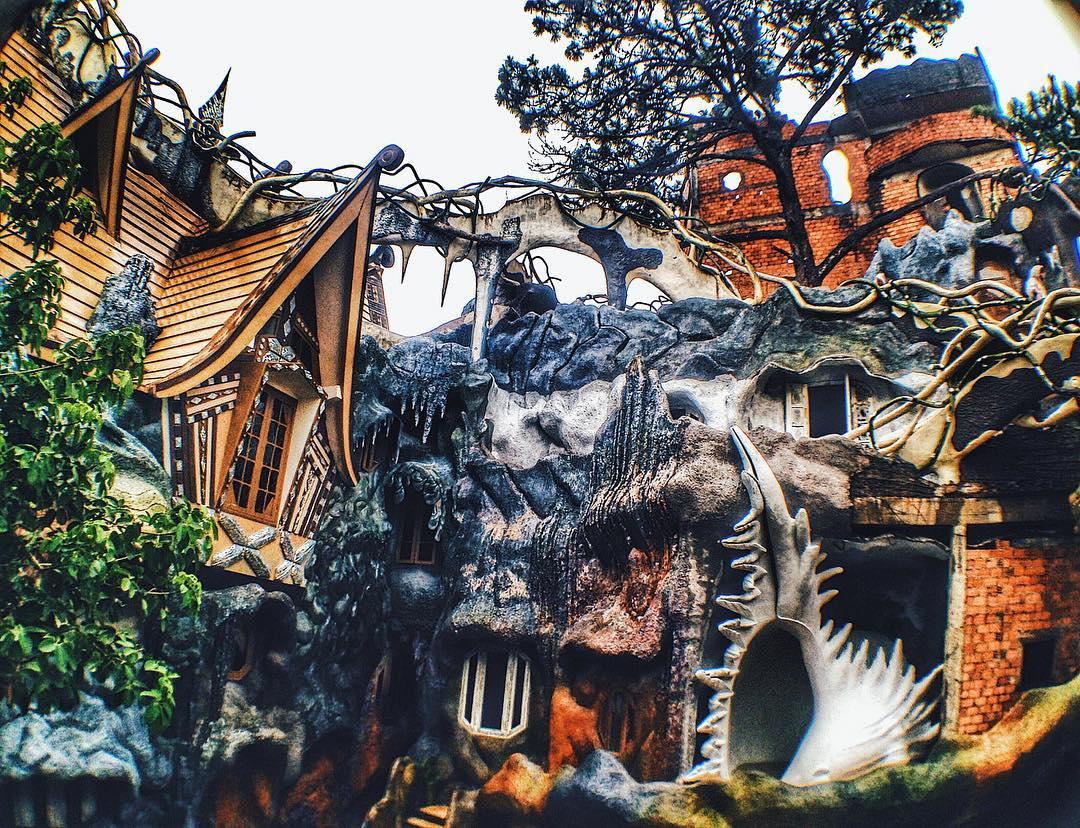 Những ngôi nhà kì lạ ở Đà Lạt