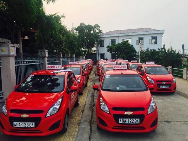 Taxi sao đỏ red star Đà Lạt
